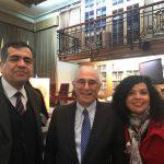 Marcelo Henríquez, Sergio Bitar y Karina Piña